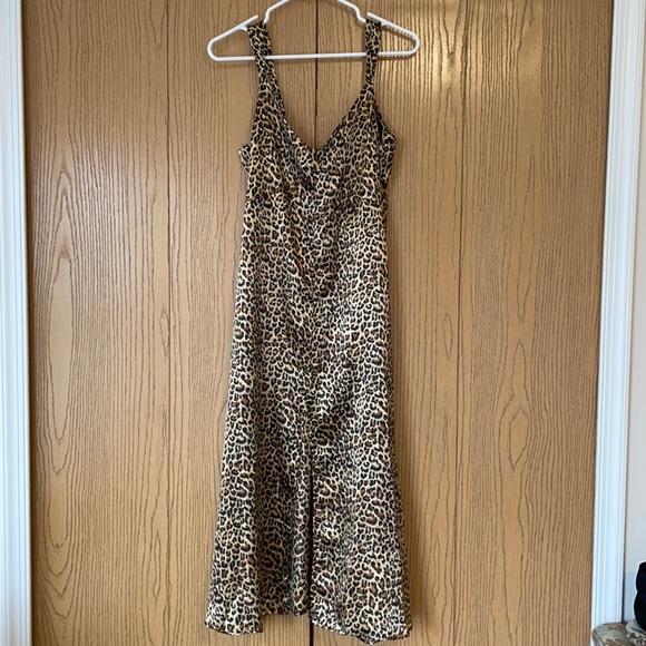 Vici leopard print dress